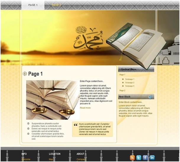 website voorbeeld
