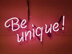 Wees uniek