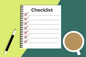 tips voor content: maak een checklist