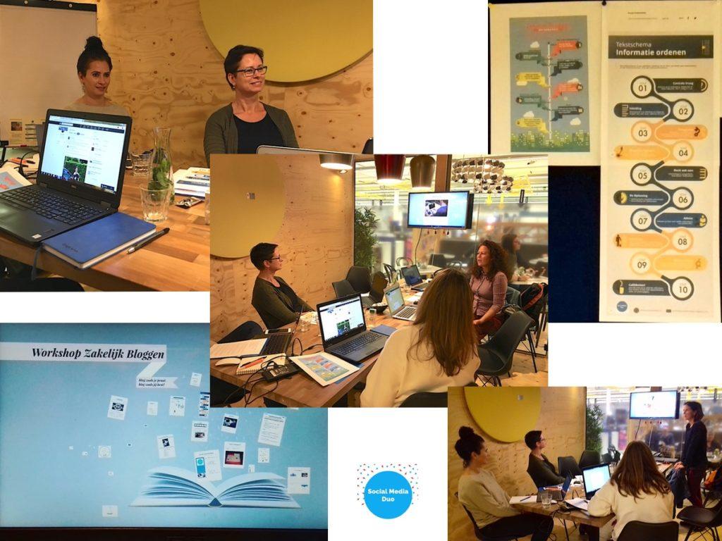 Collage workshop Zakelijk Bloggen