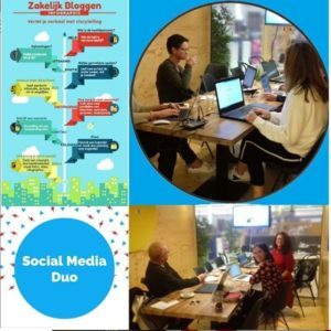 Collage workshops Social Media Duo