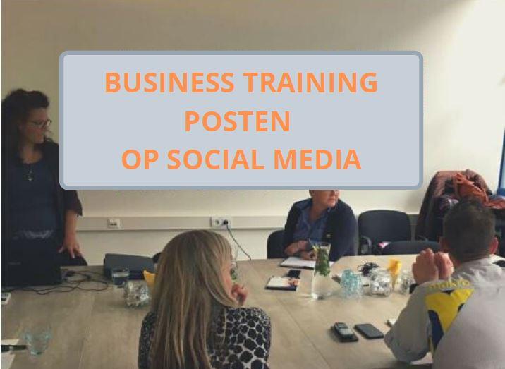 Business Training Posten Op Social Media