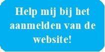 Knop Help bij aanmelden website