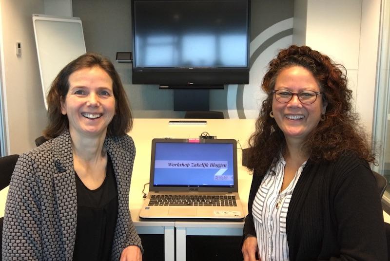 Maureen en Christel, experts in Zakelijk Bloggen